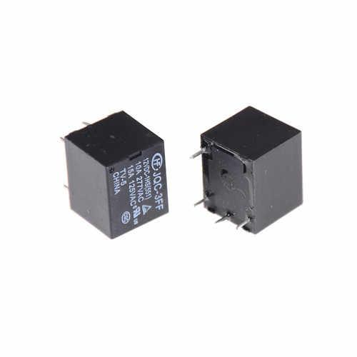 5 Pcs/lot 12V DC Mini SRD-S-112DM d'alimentation 15A 125VAC 4 broches bobine relais de puissance relais en gros