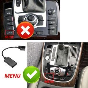 AMI MMI bluetooth ModuleAdapter Aux Cable Wireless Audio Input Aux Radio Media Interface For Audi Q5 A5 A7 R7 S5 Q7 A6L A8L A4L(China)