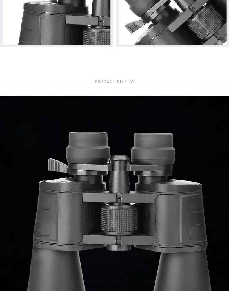 Бинокль с увеличением 10 180x100 hd отслеживание добычи для