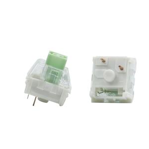 Image 2 - Kailh kutusu donanma yeşim tıknaz kutusu anahtarı IP56 su geçirmez mekanik klavye için uyumlu kiraz MX anahtarları 3pin