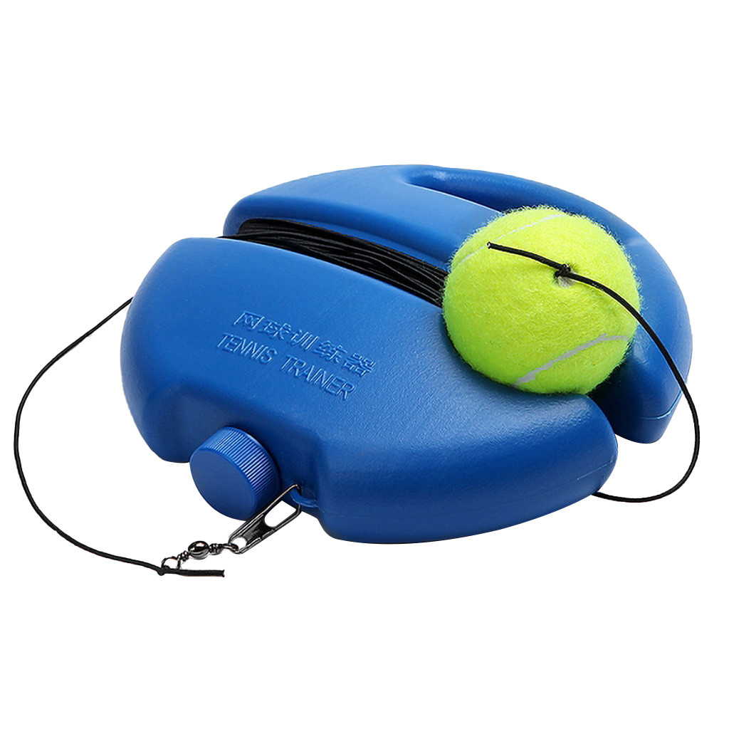 Heavy Duty Tennis Trainer Training Aids Tool With 4M Rope Ball Practice Self-Study Rebound Tennis Partner Sparring Device