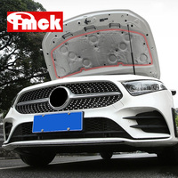 For Mercedes Benz A Class W177 V177 A180 A200 2019 2020+ Car Accessories Engine Soundproof Cotton Hood Bonnet Insulating Cotton