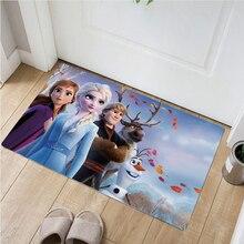 Disney Frozen Anna Elsa Door Mat  Non-slip mat Kids Boys Girls  Carpet  Bedroom Kitchen Carpet Indoor Bathroom Mat