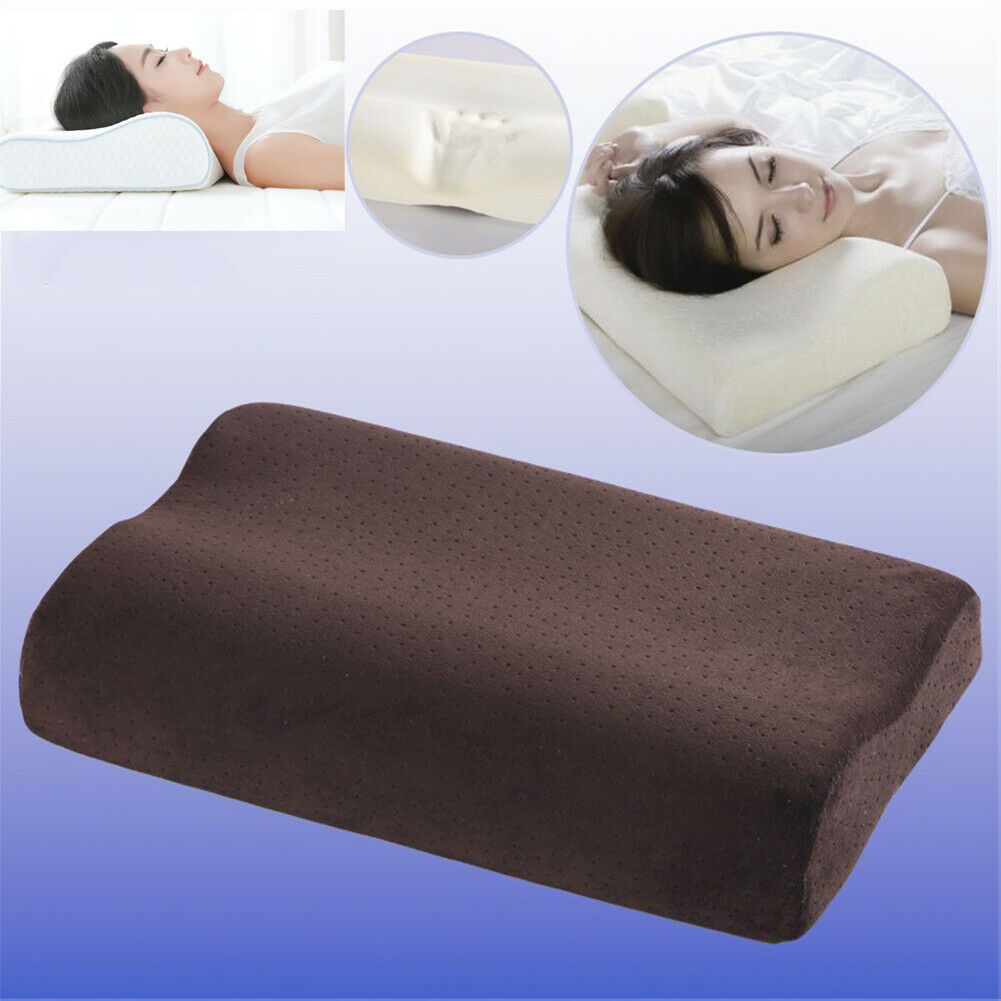 Contour Memory Foam Pillow Cervical Pillow for Neck Shoulder Pain Relief