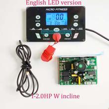 一般的な使用ユニバーサルトレッドミル回路ボードトレッドミルモータ制御ボードコントローラ 1HP 4.0HP トレッドミルコンソールディスプレイ