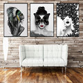 Customize HD Printed Canvas Poster 3D Prints Design Butterfly Flower Antlers Stairs Girls Mixed Picture Wall Art Figure Painting
