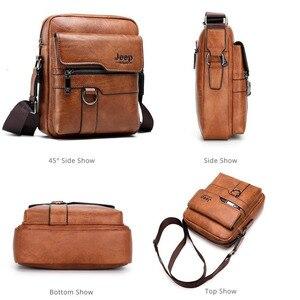 Image 2 - ผู้ชายใหม่แล็ปท็อปขนาดเล็ก Messenger กระเป๋าหนังผู้ชายกระเป๋าสำหรับ IPAD Mini แท็บเล็ต Man Crossbody กระเป๋าสำหรับกระเป๋าสตางค์