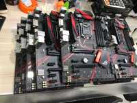 ASUS STRIX B250H GAMING 8 graphics card mining motherboard motherboard 1151 used No boxes and accessories