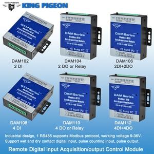 Image 5 - Industrial Grade Remote IO Module RTU for Industrial Energy Monitor & Flow Meter AIN+Temperature Modbus RTU Remote IO DAM124