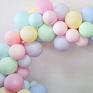 Image 2 - 20pcs Macaron Balloon 1st Happy Birthday Decorations First Birthday Boy Girl Party Kids Adult Baby One Year Birthday Decor 21 40