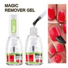 15ml burst gel rápido manicure removedor semi permanente ferramenta de verniz cola embeber fora removedor polonês mais limpo unha polonês tslm1
