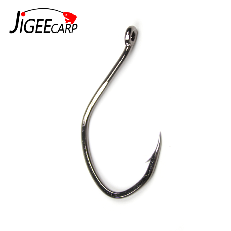 20Pcs//Lot High Carbon Steel BaitHolder Bass Jig Sharp Fishing Hook 8//6//4//2//1+Box
