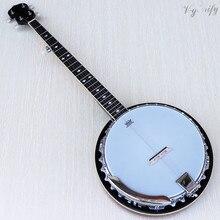Хорошее качество 5 струн банджо Германия Высокое качество глянцевый 22F хром литья под давлением машинная головка