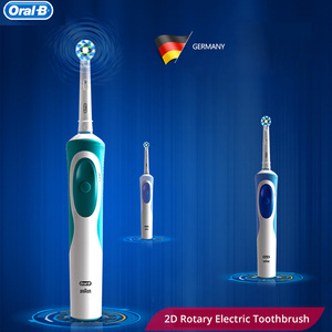 Image 5 - Oral B D12 Series Vitality Electric Toothbrush Soft Bristle Repalcement Brush Head with Travle Box Rechargeable IPX7 Waterproof