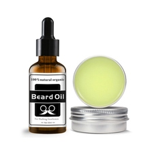 Beard Balm Hair-Care-Set Antibacterial Nourishing