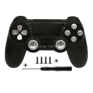 Image 5 - Gold Benutzerdefinierte Metall Thumbsticks Analog Controller Kugel Tasten Chrome D pad Für Sony PS4 Controller