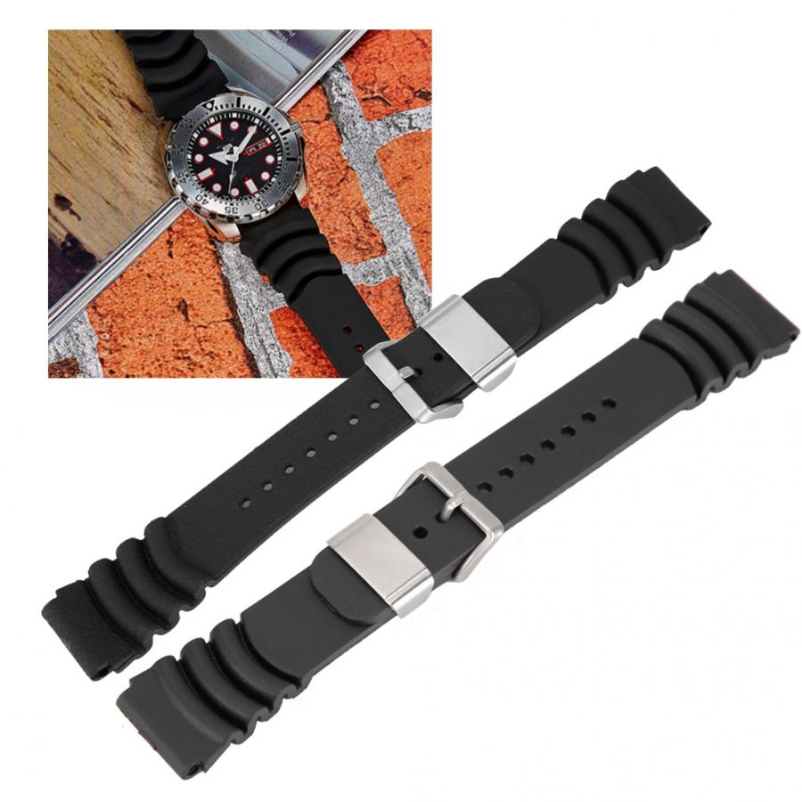 Watch Strap PU Watchband Strap Replacement Upgrade Watch Bands Easy to Use Watch Accessory With Steel Ring Watch Accessories