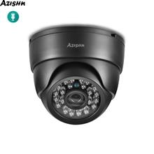 Azishn Beveiliging Audio Ip Camera 3MP 1080P Indoor Nachtzicht Cctv Home Security Video Surveillance Dome Camera Onvif 48V Poe
