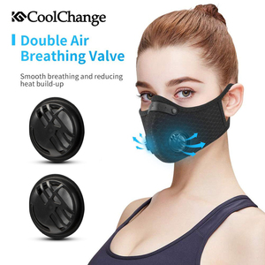 Image 3 - CoolChange Cycling Face Mask Activated Carbon With Filter PM2.5 Anti Pollution Bike Sport Protection Dust Mask Anti droplet