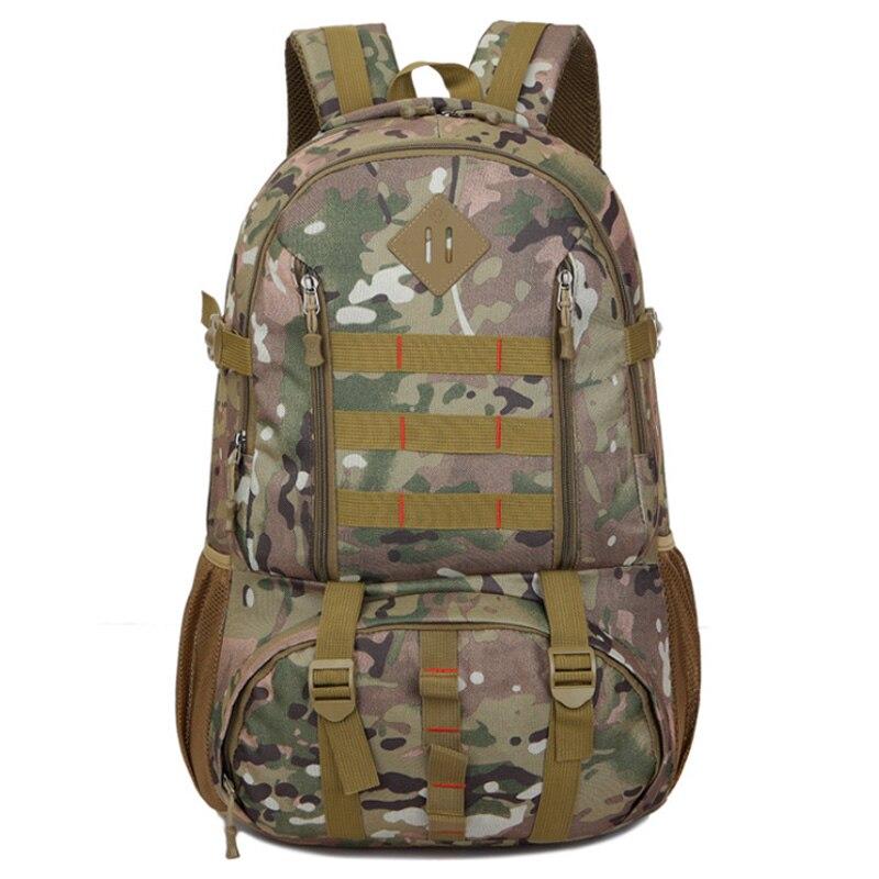 50L Backpack Waterproof Hiking Hunting Backpack Tourist Rucksack Sports Bag Mountaineering Bag Backpack Camouflage1
