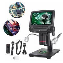 Цифровой микроскоп Andonstar ADSM301 с USB/HDMI, 5 дюймовый дисплей и измерительное программное обеспечение для пайки THT SMD SMT и ремонта телефонов