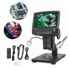 Andonstar ADSM301 USB/HDMI Digital Microscope 5 inch Display&Measuring Software for THT SMD SMT Soldering and Phone Repair