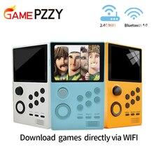 เกม PZZY A19 Pandoras Box Android supretro เกมคอนโซลเกมคอนโซลหน้าจอ IPS Built in 3000 เกม + 30 3D เกม WIFI downlo