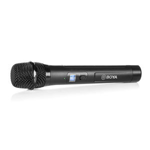 Image 3 - Boya by whm8 Pro UHF kablosuz mikrofon dondurma, uyumlu sistemi by wm8 Pro