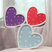 Ins Creative Girl Beloved LED Lamp Wall Decoration Girl Room Wall Decoration