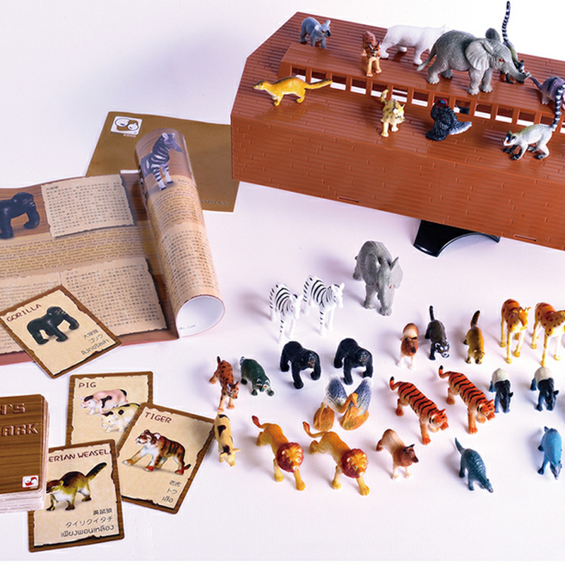 Genuine Noahs Ark Parent And Child Educational Thinking Toy Noah's Ark Get On The Ark Maintain Balance