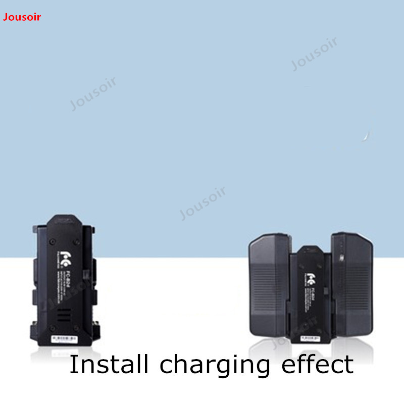Falconeyes V port lithium battery charger two electric double charge V type lithium battery charger FC B2d CD50 T03 - 4