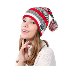 for wearable devices Bluetooth Wireless Smart Beanie Hat Handsfree Music Speaker Chriatmas Hat support dropshipping