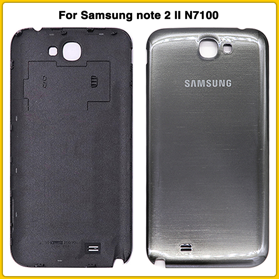 New N7100 Rear Housing Case For Samsung Note 2 N7100 N7105 N7108 I317 Battery Back Cover Door Rear Cover NO NFC