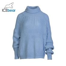 ICEbear Women Turtleneck Chunky Oversized Sweater Full Sleev