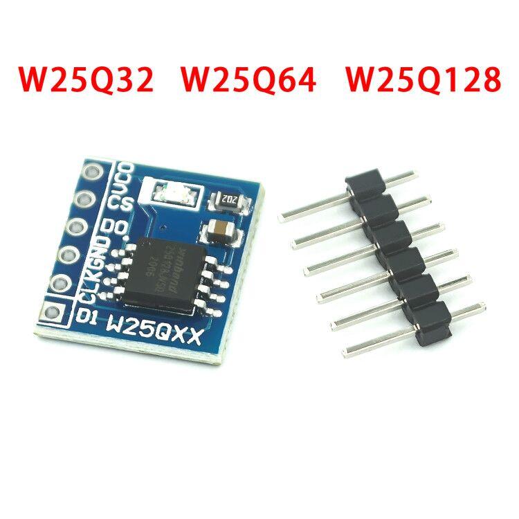 W25q32 w25q64 w25q128 módulo de armazenamento flash de grande capacidade interface spi bv fv código stm32