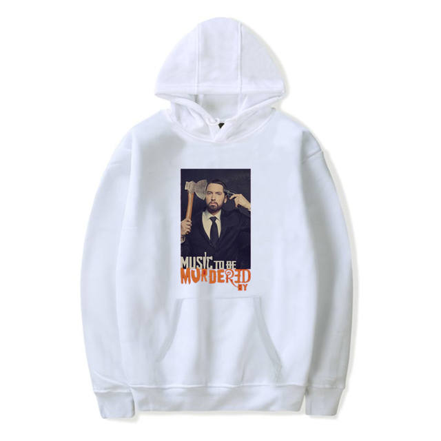 MUSIC TO BE MURDERED EMINEM HOODIE (9 VARIAN)