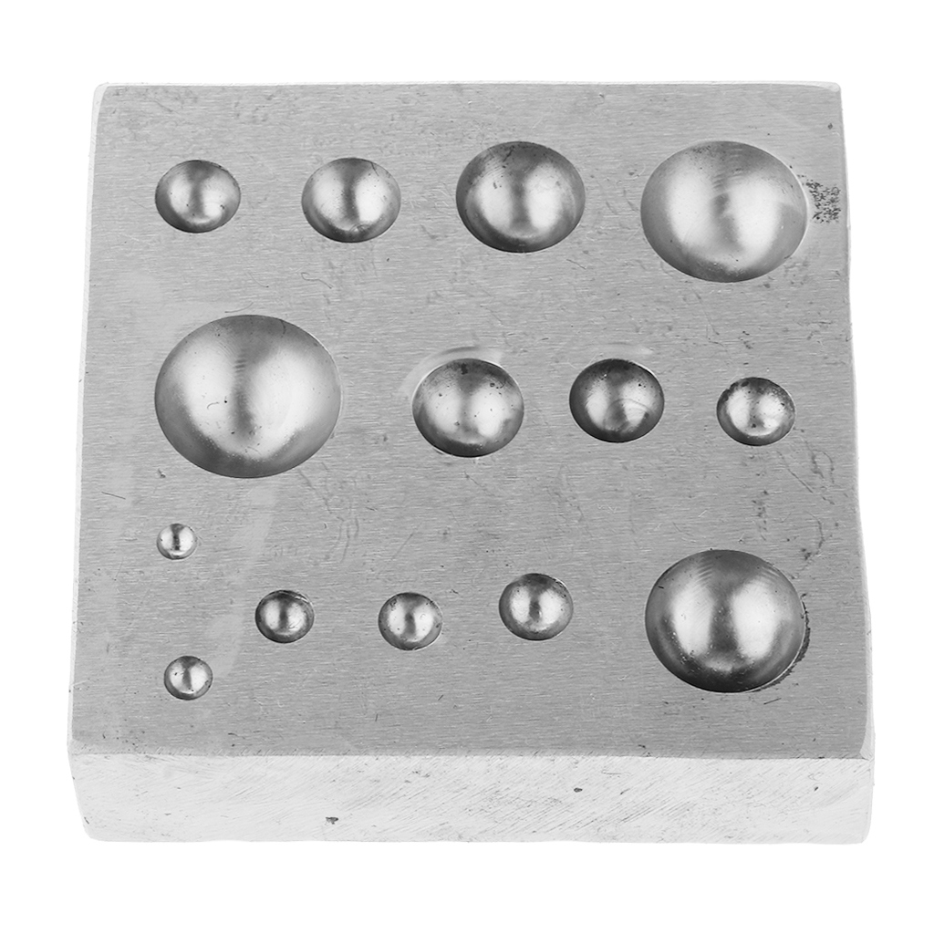Bloc de décoration en cuivre, banc en métal formant des bouchons de perles, fournitures d'outils de fabrication de bijoux
