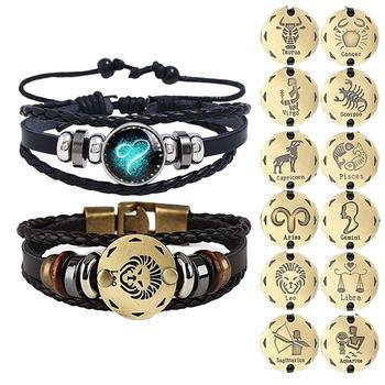 Zodiac Braided Bracelets