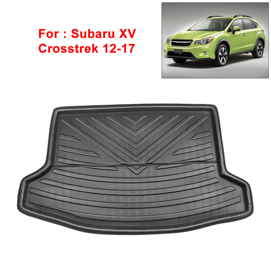 lowest price Boot Mat Rear Trunk Liner Cargo Floor Tray Carpet Mud Kick Protector Cover For Ford Escape Kuga 2013 2014 2015 2016 2017 18-2019