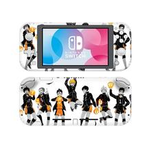 Anime HaiKyuu NintendoSwitch skórka naklejka naklejka pokrywa dla Nintendo przełącznik Lite Protector przełącznik do Nintendo Lite skórka naklejka