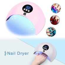 Nail Polish Curing Lamps, 36W UV Light LED Nail Dryer Curing Lamp Fingernail & Toenail Polishes Art Professional Nail Dryer high quality eu plug 36w ultraviolet 220v gel professional uv curing lamp light dryer nail art
