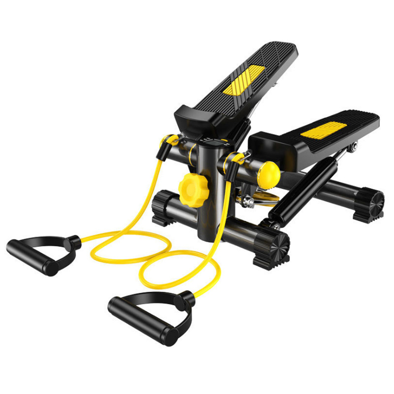 Солнечный здоровье и фитнес Регулируемый мини лестничные шаговые Упражнения оборудование Степпер с скручивающимся действием - Цвет: Цвет: желтый