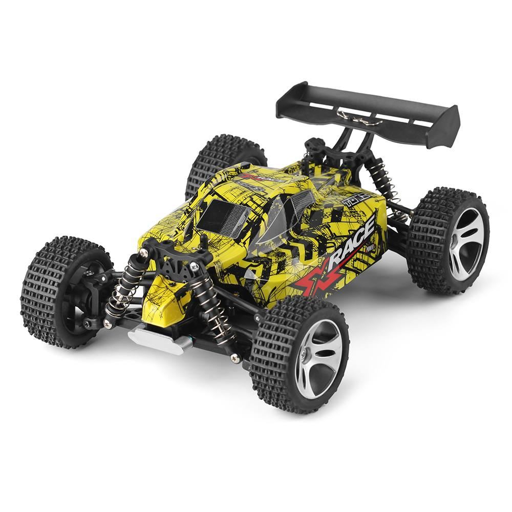 Wltoys 18401 1:18 2.4G 6.4v 500mAh 4WD RC Car Vehicle Models Remote Control  Electric Vehicle RTR Model High Speed RC Cars