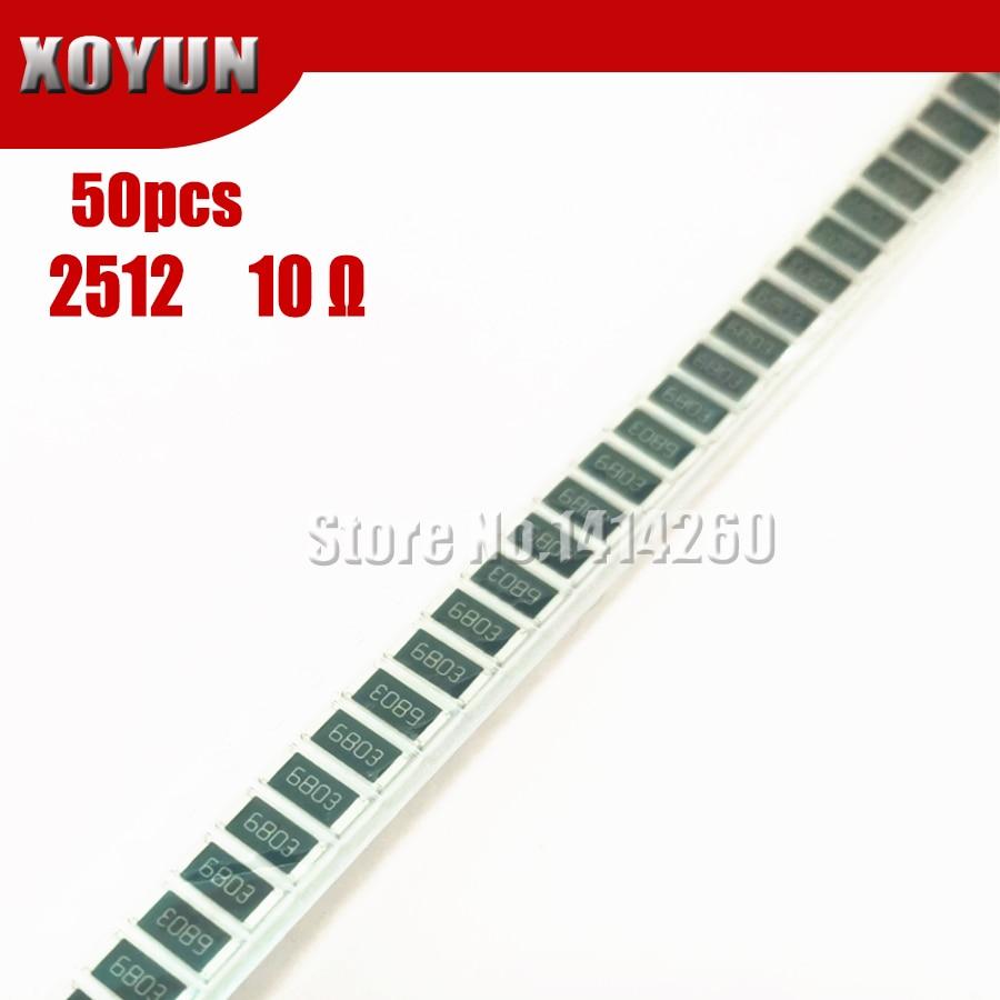 50 шт 2512 SMD резистор 5 Ом 1 Вт 10R 100|Резисторы|   | АлиЭкспресс