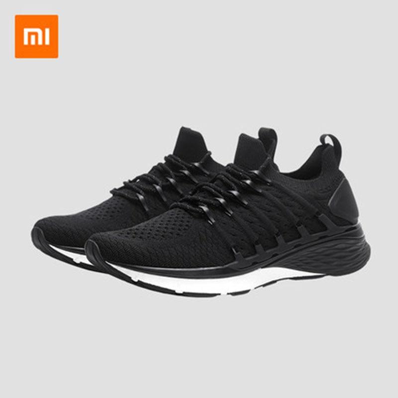 Chaussures de sport d'origine Xiaomi Mijia shoes3 hommes surface nette respirante chaussures de course légères antidérapantes chaussures décontractées résistantes à l'usure