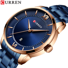 CURREN Luxury Mens Watches Fashion Business Male Wristwatch Stainless Steel Strap Waterproof Date Top Brand Relogio Masculino