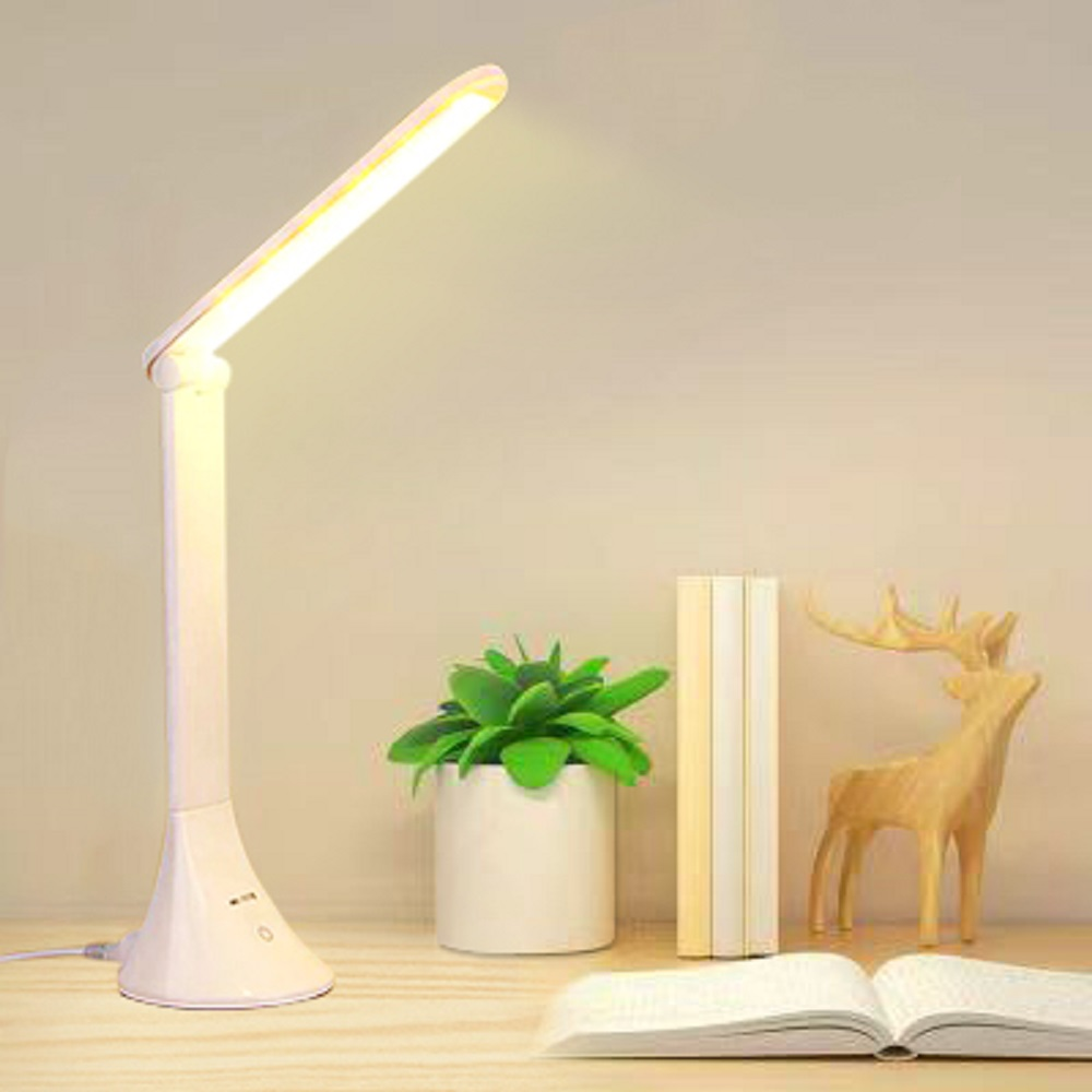 LED Desk Light USB Adjustable Folding Eye Protector Children Touch Desk Lamp Office Bedroom Reading Lamp Lowest Price