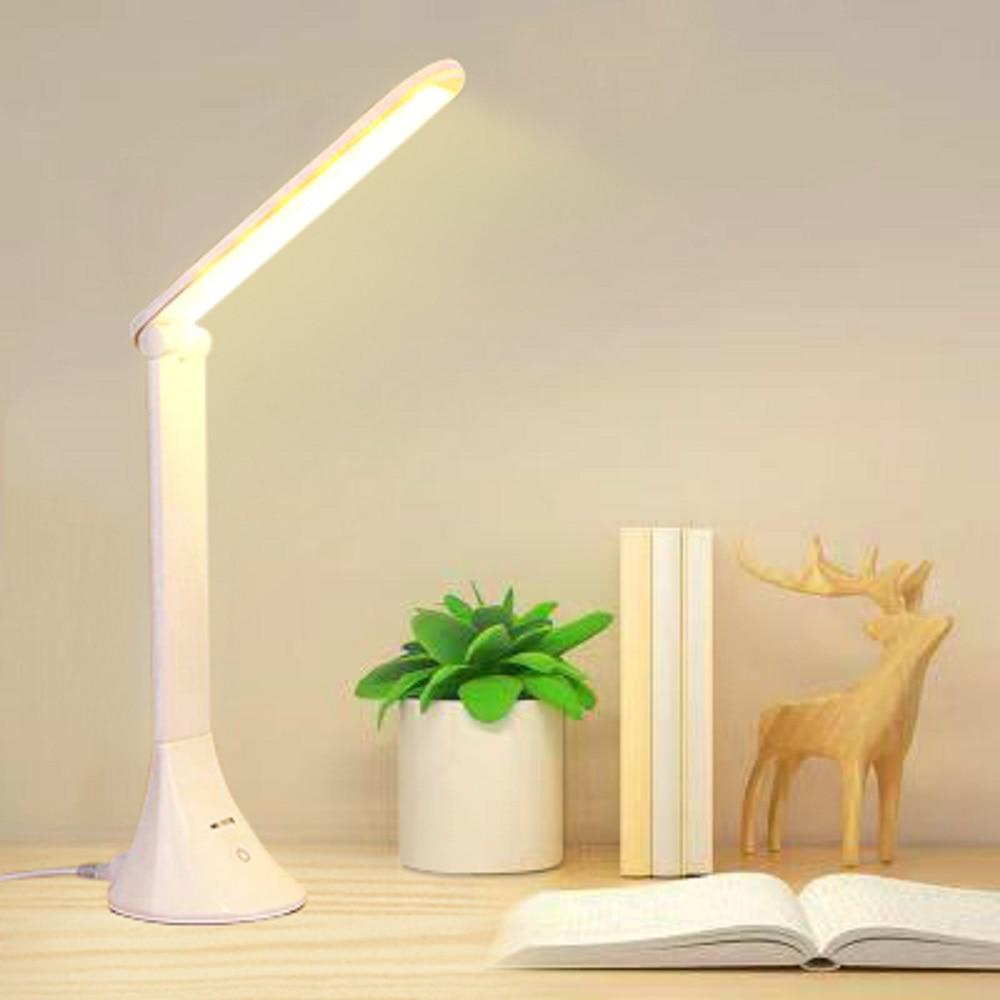 LED Desk Light USB Adjustable Folding Eye Protector Children Touch Desk Lamp Office Bedroom Reading Lamp Lowest Price