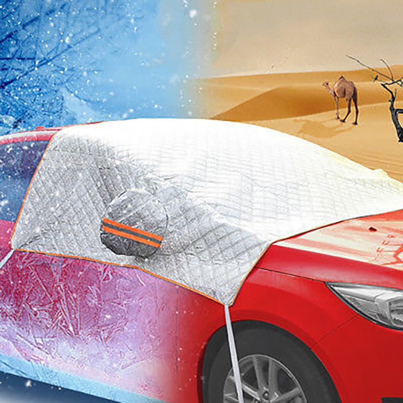 Car Cover Car Raincoat Pratical Auto Cover Cars Accessories Silver Durable