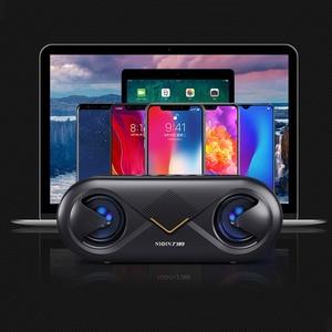 Image 5 - Портативный беспроводной Bluetooth 5,0 динамик 4D стерео звук громкий динамик открытый двойной динамик s Поддержка TF карта/USB накопитель/AUX